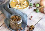 recette healthy-granola sale-spice-poisson-legume-soupe-cereale-muesli
