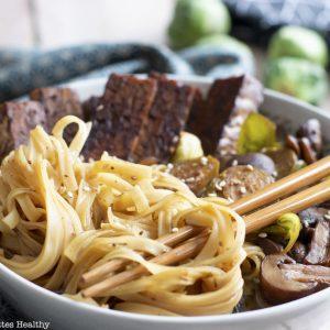 recette healthy-ravel-nouille chinoise-legume-vegetarien-tempeh-japonais