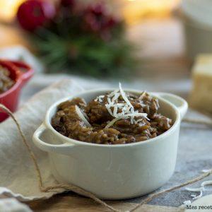 recette healthy-risotto champignon-bouillon legume-sans vin