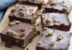 recette healthy-brownie -sans beurre-chocolat-compote-noix de cajou