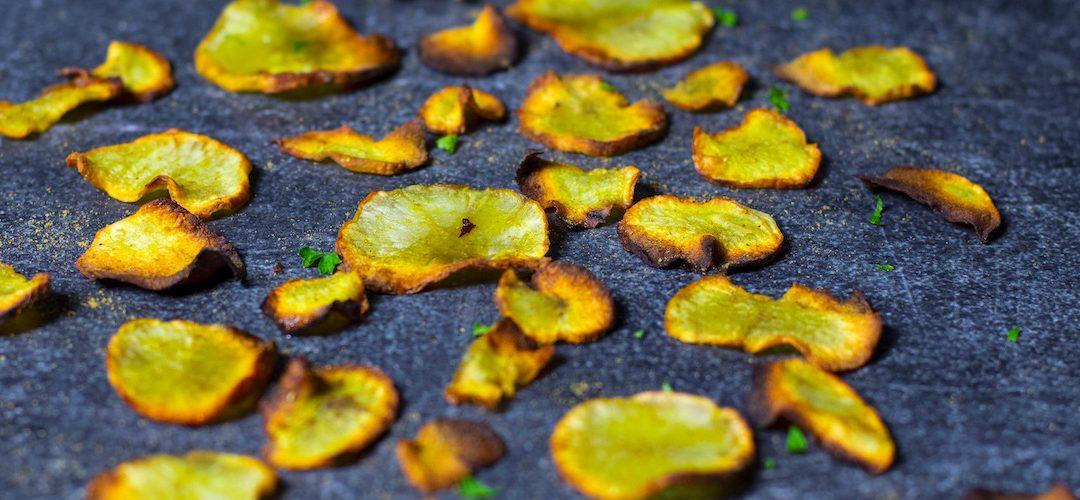 Chips de topinambour aux épices