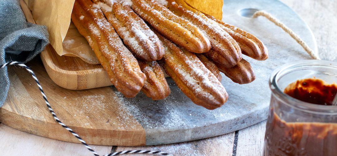 recette healthy-churros-patate douce-mardis gras-beignet-au four-sans friture