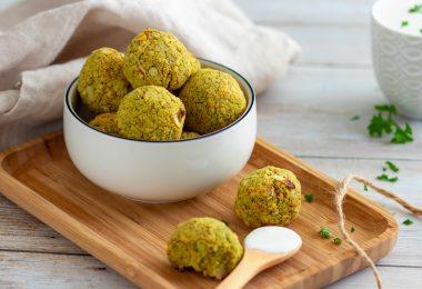 recette healthy-falafel au Brocolis-legume-pois chiche