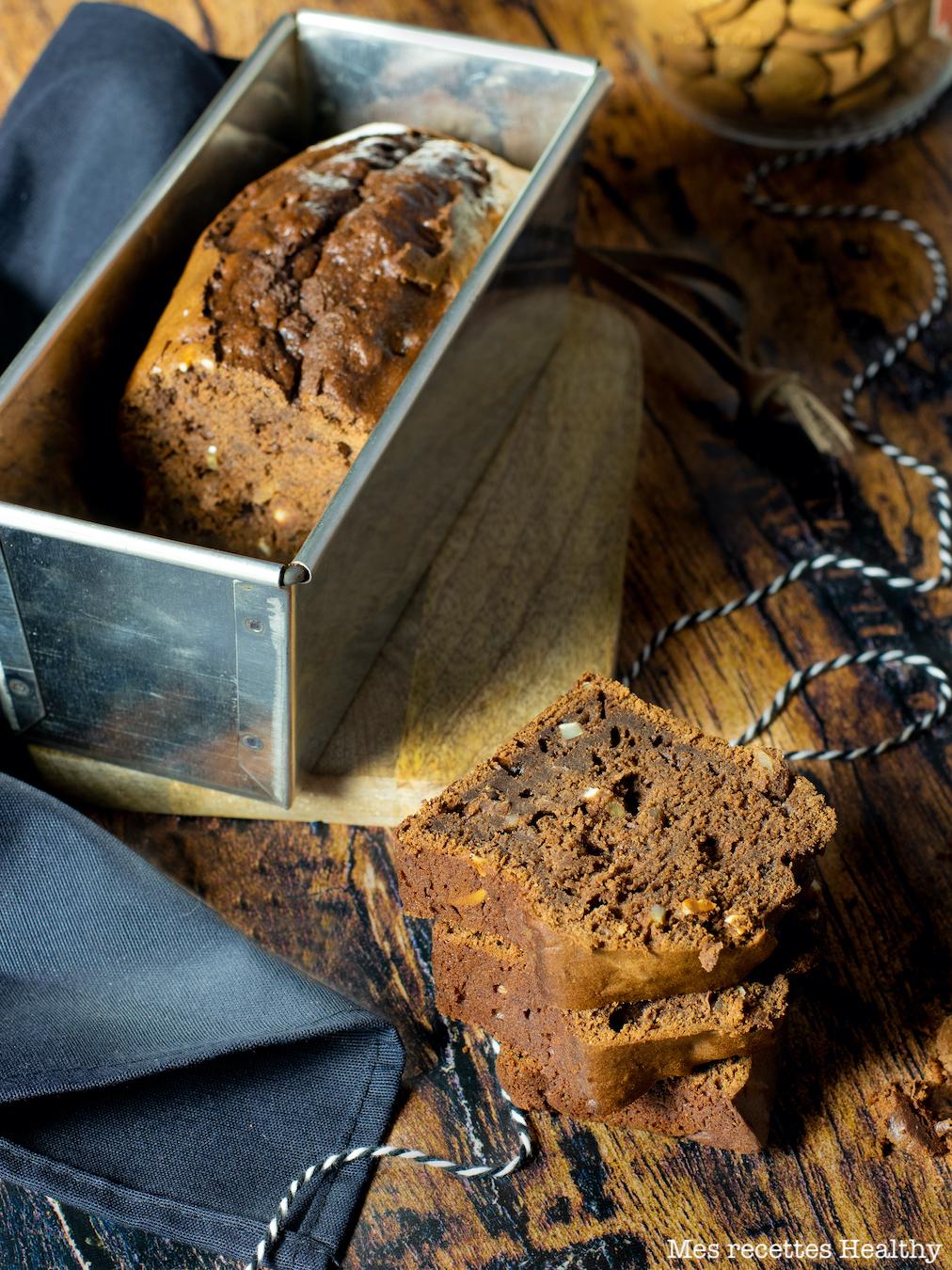 recette healthy-gateau au chocolat-mascarpone-amande