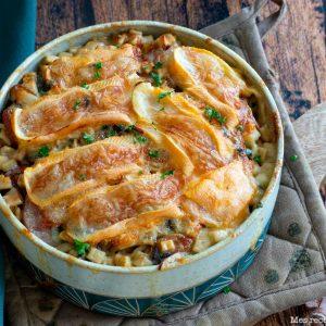 recette healthy-gratin de crozet-diot-reblochon-savoie
