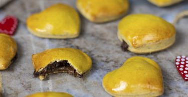 recette healthy-pop tarte-pâte a tartiner-saint Valentin-coeur-pate brisée