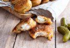 recette healthy-beignet de poisson-cabillaud-cornichon-tomate