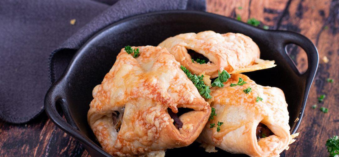 recette healthy-feuillète-champignon-bacon