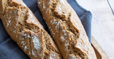 recette healthy-baguette pain-sesame-noix-fait maison