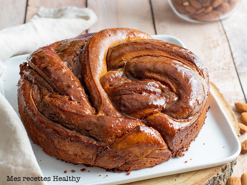 recette healthy-brioche-pâte à tartiner-chocolat noisette