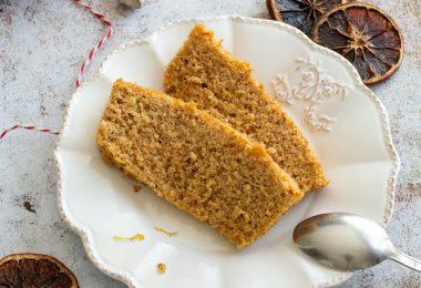 recette healthy-cake au citron-moelleux -sans gluten-amande
