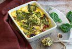 recette healthy-flan sale-epinard-tomate-