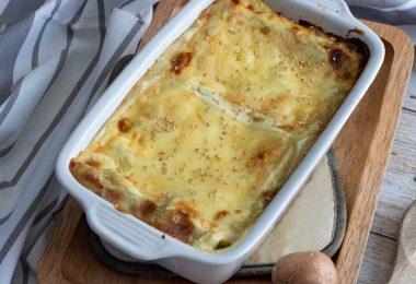 recette healthy-lasagne de chou-fleur-legume-vegetarienne-sans viande-béchamel maison.