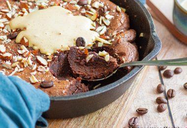 recette healthy-brownie au chocolaty-sans sucre ajoute-sans beurre-cafe-beurre de cacahuète