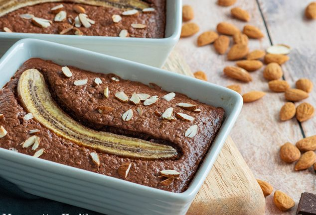 recette healthy-porridge au chocolaty-gateau chocolat-avoine-banane