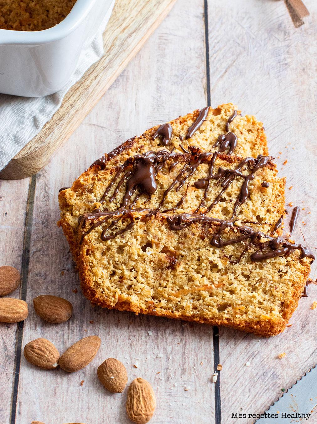 recette healthy-cake à la carotte-beurre de cacahuète-moelleux-sans beurre