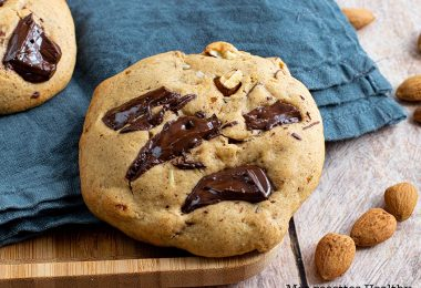 recette healthy-cookie noisette-amande-chocolat-biscuit