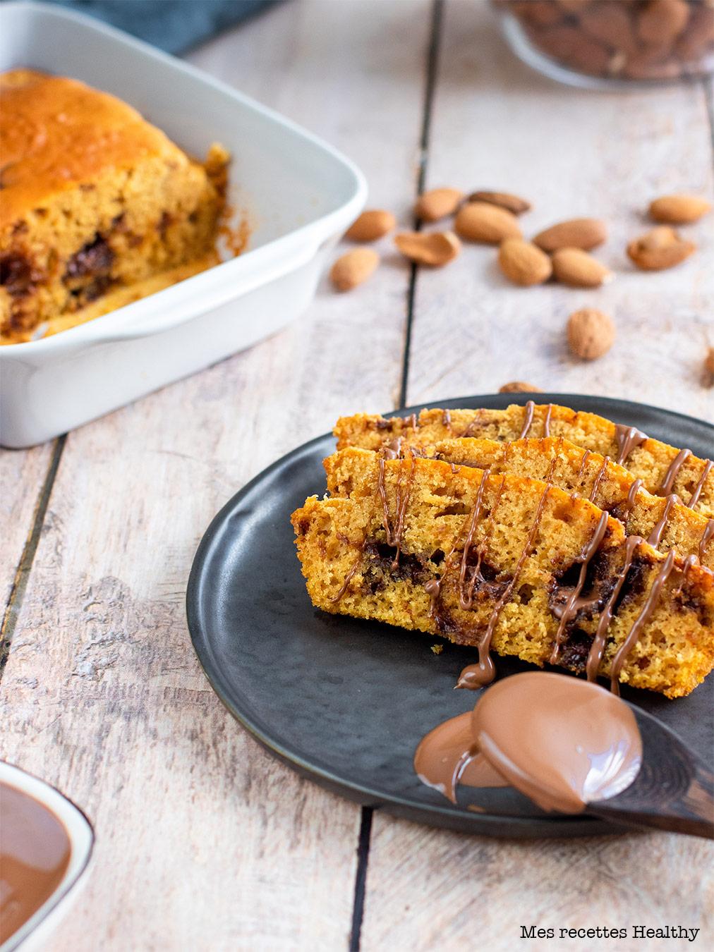 recette healthy-gateau au maïs-orange-chocolat-moelleux-farine de maïs