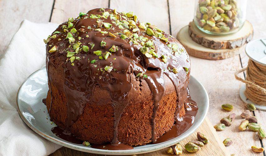 Gâteau moelleux au chocolat banane léger