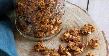 recette healthy-granolas croustillant-miel-epice