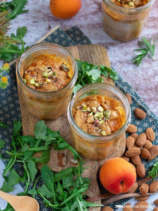 recette healthy-clafoutis aux abricots-fruit-lait d'avoine-fruits