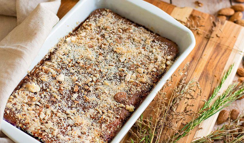 Brownie fondant au chocolat sans beurre