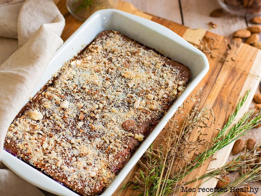 recette healthy-brownie fondant au chocolat-banane-sans beurre