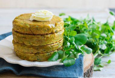 recette healthy-galette de courgette-ricotta-fromage-legume