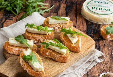 recette healthy-tartine de pérail-lou perac-pain maison-apéro