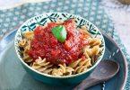 recette healthy-sauce tomate -fait maison-rapide-express-sucre complet-saine