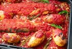 recette healthy-truite à la tomate-pomme de terre-noirmoutier-truite au four