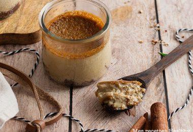 recette healthy-creme aux oeufs-epices-ganache-chocolat-sans lait