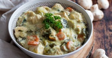 recette healthy-blanquette de veau-poulet-volaille-legume-creme