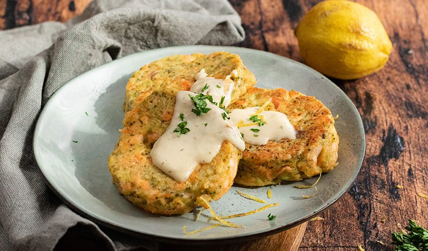 recette healthy-croquette saumon brocolis-sauce citron-aneth-poisson-legume-chou