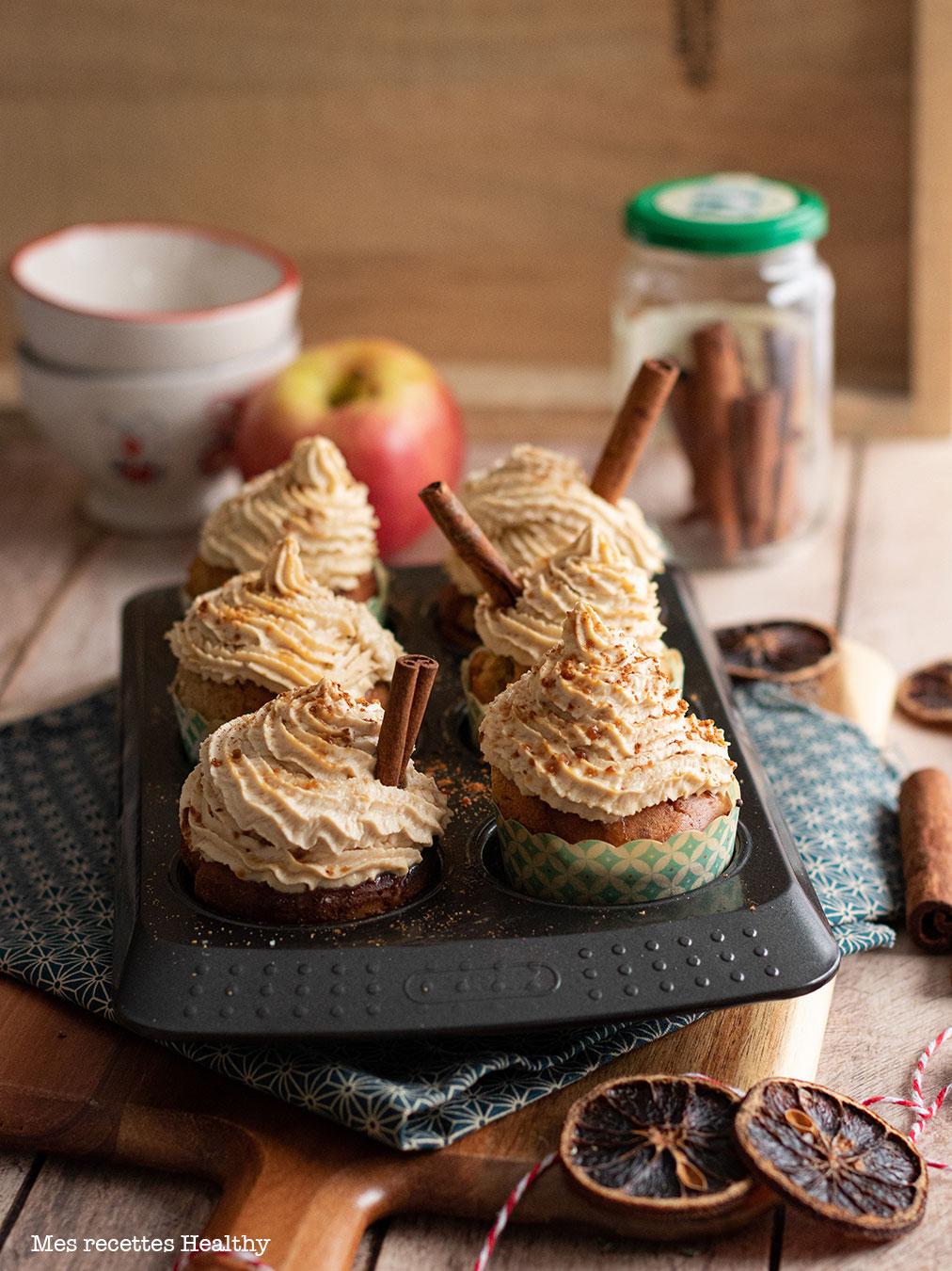 recette healthy-cupcake canelle-moelleux-mascarpone
