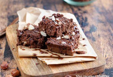 recette healthy-brownie sans gluten-fondant-chocolat-lentille