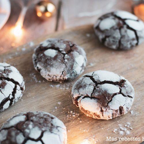 recette healthy-crinkle chocolat-biscuit Maison-noel-fete
