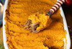 recette healthy-noel-nouvel an-hachis Parmentier de canard-confit de canard-patate douce