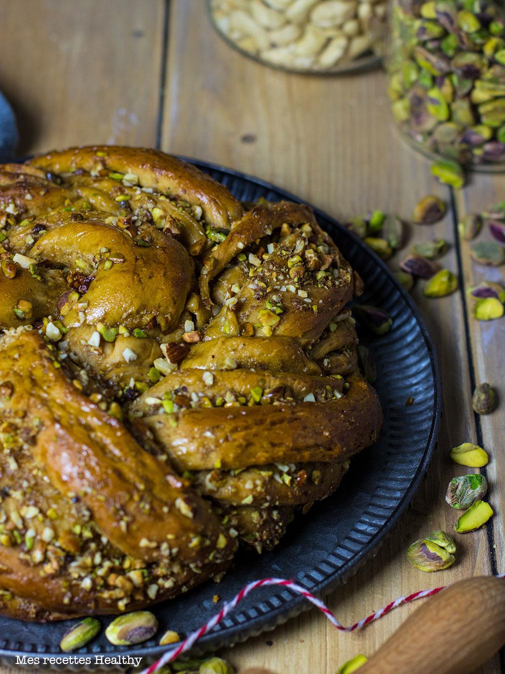 recette healthy-babka pistache-amande