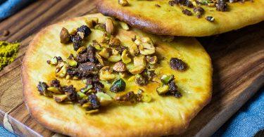 recette healthy-naan-pistache-amande-beurre