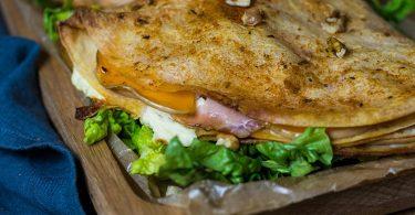 recette healthy-quesadillas au Butternut-fromage -chevre