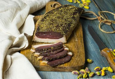 recette healthy-magret canard seche-confit canard-viande séchee-marinade canard