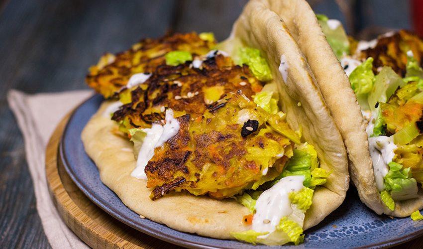 recette healthy-croquette de legume-vegetarien-naan-pain indien