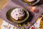 recette healthy-cupcake à la framboise-rose-saint Valentin