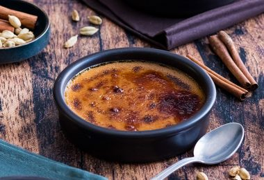 recette healthy-creme brulée-vanille-mascarpone-cardamome