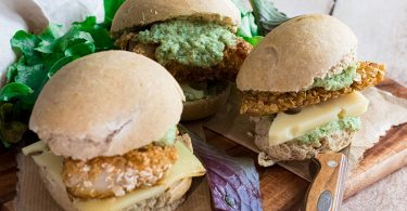 recette healthy- filet o fish-poisson pané-sauce tartare-cornichon