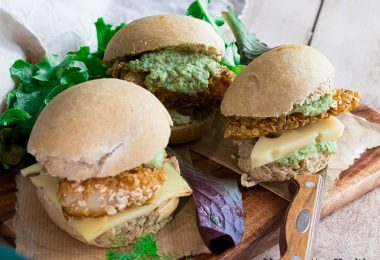 recette healthy- filet o fish-poisson pané-sauce tartare-cornichon