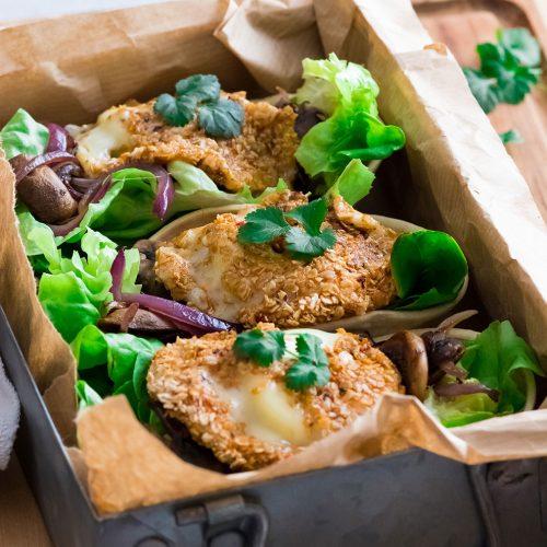 recette healthy-tacos au rocamadour-fromage