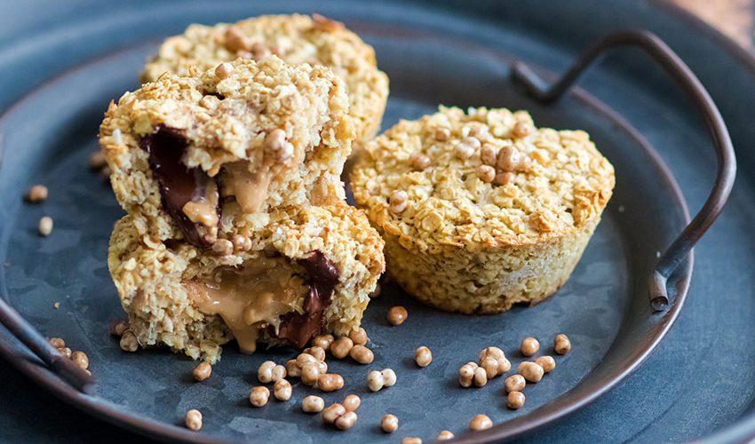 recette healthy-muffin -beurre de cacahuètes-chocolat