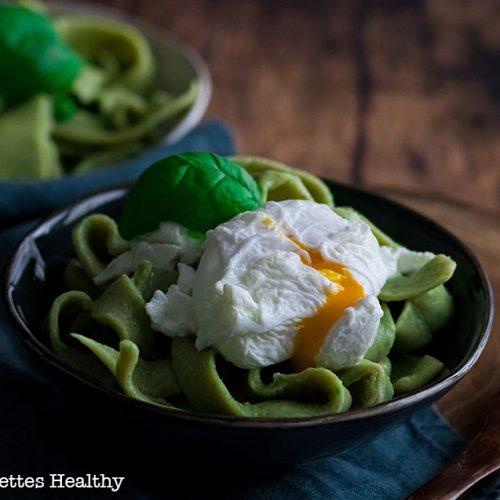 recette healthy-tagliatelle fraîche-pâte frais-fait maison-petit pois